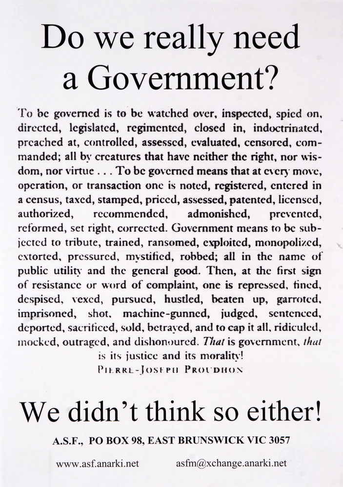 Do we really need a Government ? - 703 × 1000 px