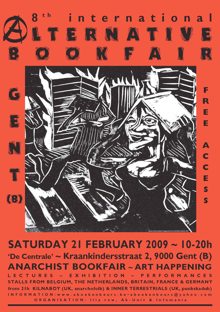 8th international alternative bookfair, Gent (B) - 707 × 1000 px