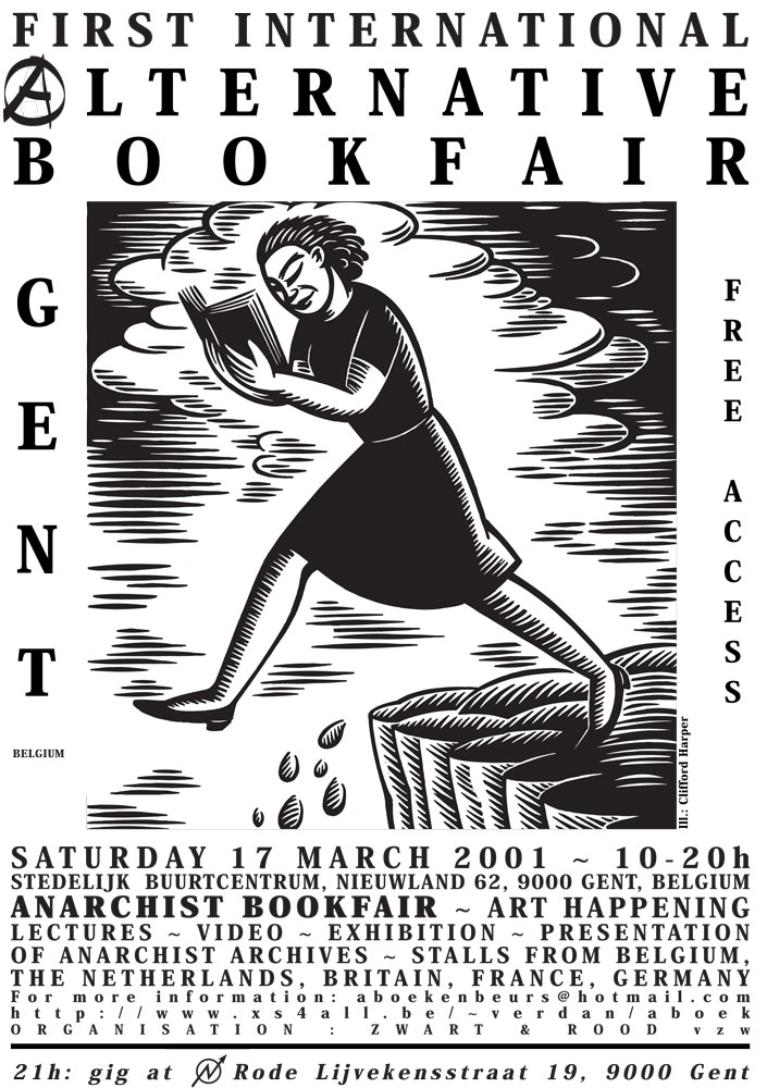 First international alternative bookfair, Gent - 705 × 1000 px