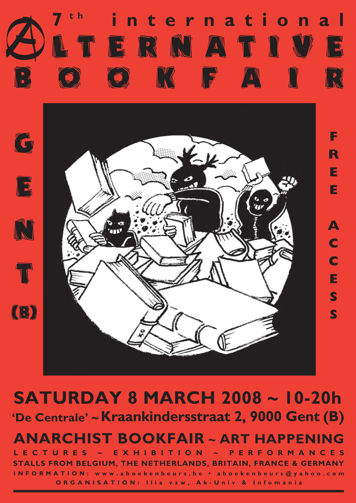 7th International Alternative Bookfair, Gent - 707 × 1000 px