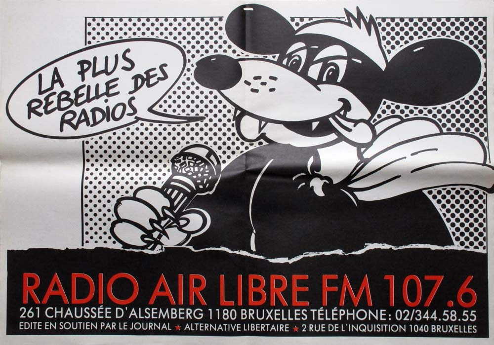 Radio Air libre FM 107.6, la plus rebelle des radios - 1000 × 699 px