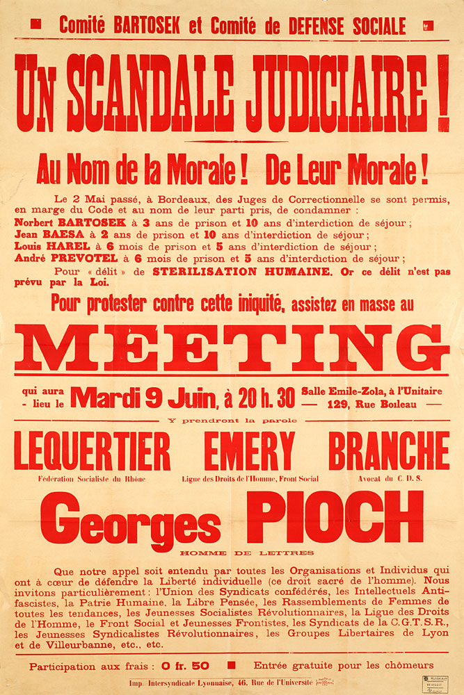 Un scandale judiciaire : meeting - 667 × 1000 px