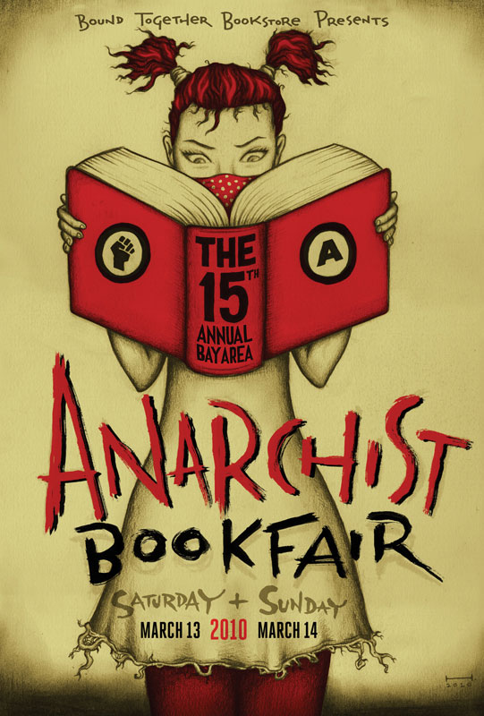 Annual Bay Area anarchist bookfair, 15th - 541 × 800 px