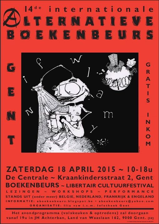 14de internationale alternatieve boekenbeurs - 509 × 720 px