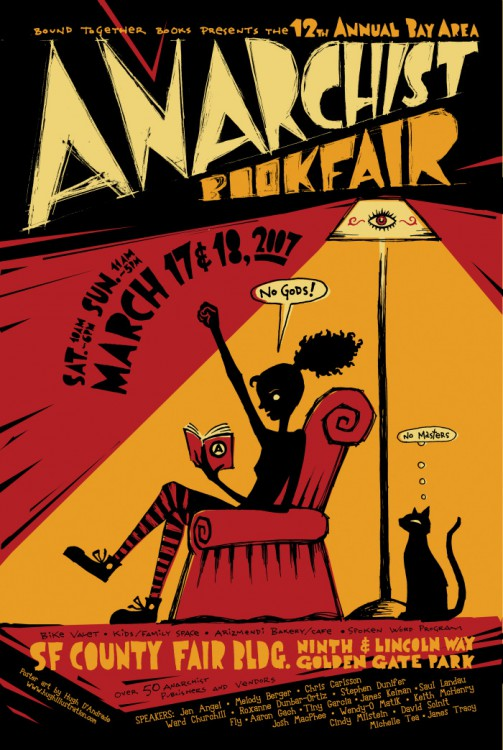 Annual Bay Area anarchist bookfair, 12th - 503 × 750 px