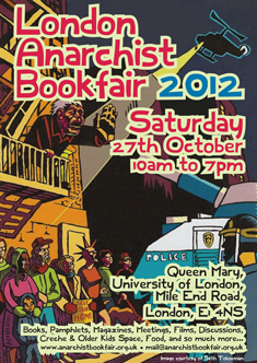 London anarchist bookfair 2012 - 235 × 332 px
