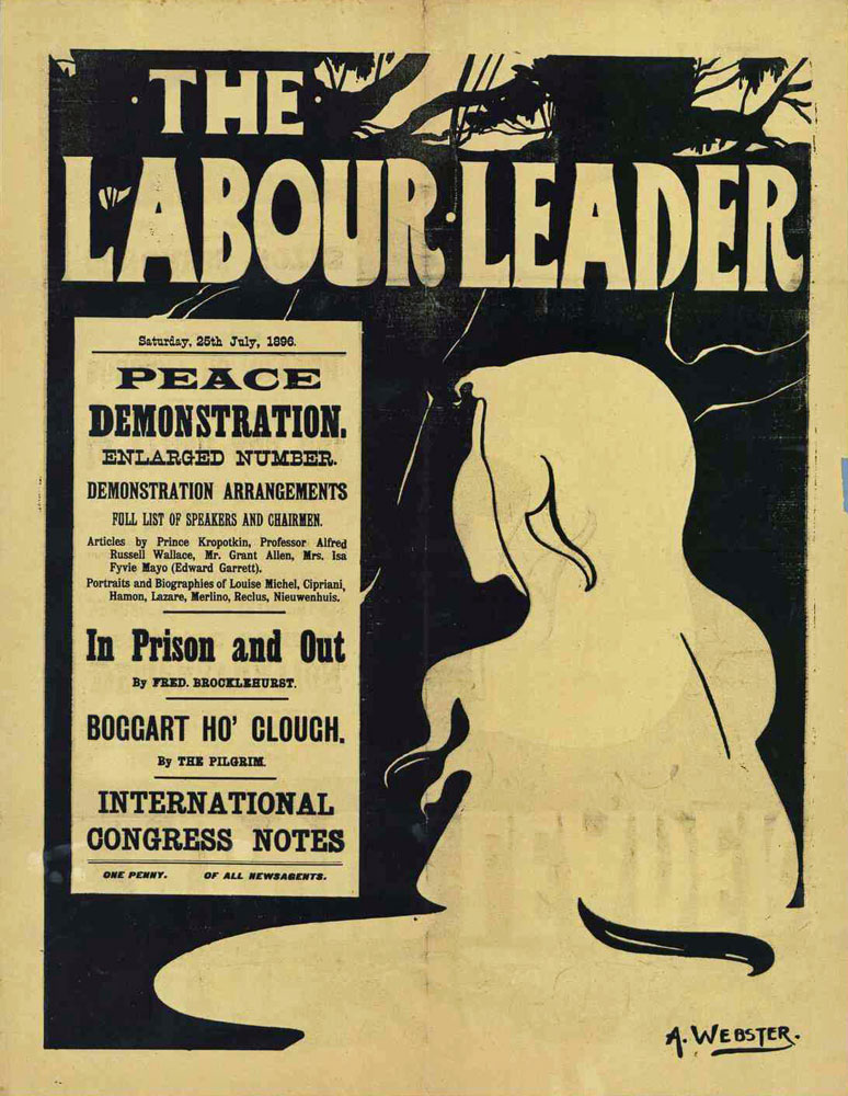 The Labour Leader : peace demonstration - 774 × 1000 px