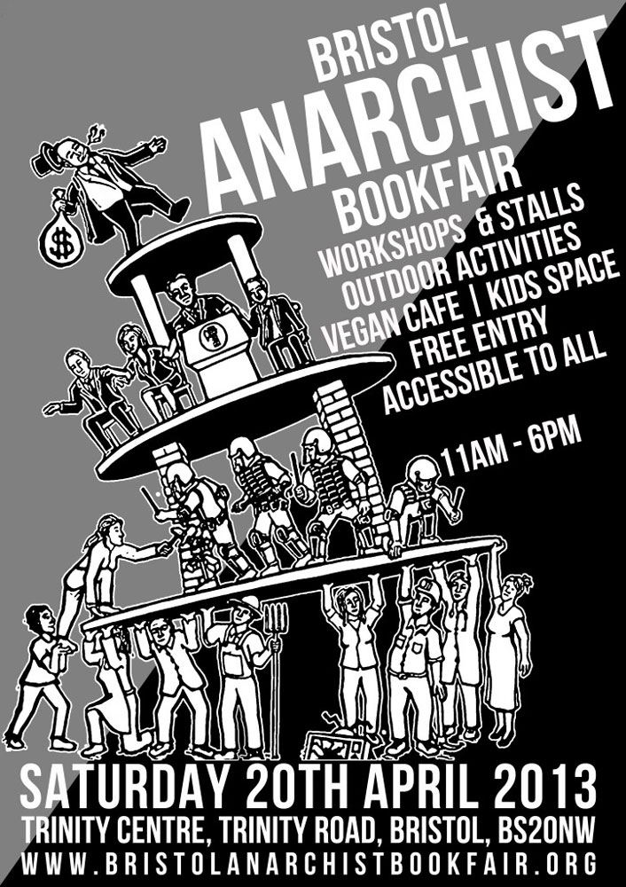 Bristol Anarchist Bookfair, 5th, 2013 - 706 × 1000 px