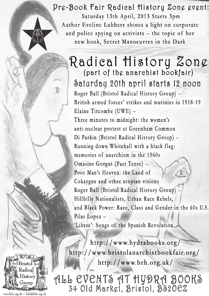 Bristol Anarchist Bookfair, 5th, 2013 : Radical History Zone - 672 × 950 px