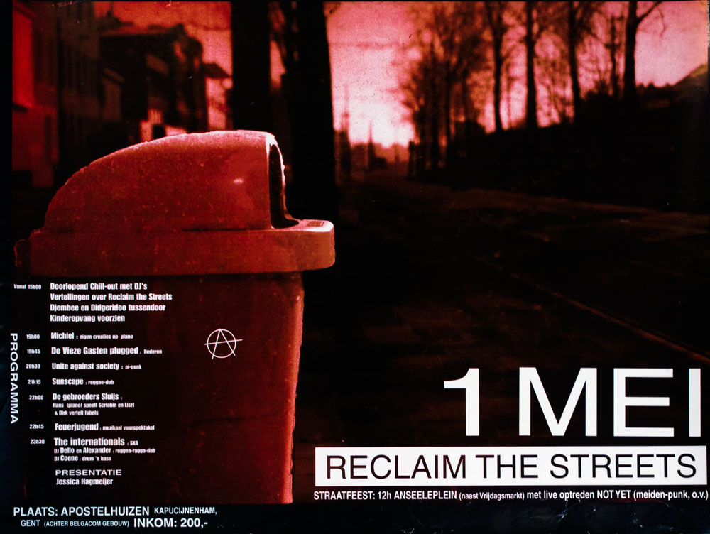 1 Mei : reclaim the streets - 1000 × 752 px