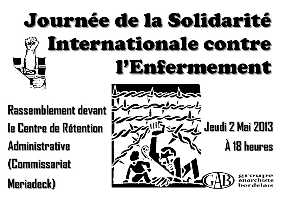 Journée de la Solidarité Internationale contre l'Enfermement - 1000 × 707 px